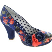 Shoes Women Heels Ruby Shoo eva women's blue floral flower print high heel slip on court sh Floral