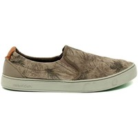 Shoes Men Slip ons Satorisan Soumei Algue Palms Brown