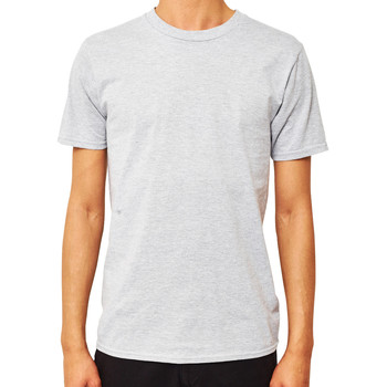 Clothing Men short-sleeved t-shirts The Idle Man Premium Classic T-Shirt Grey