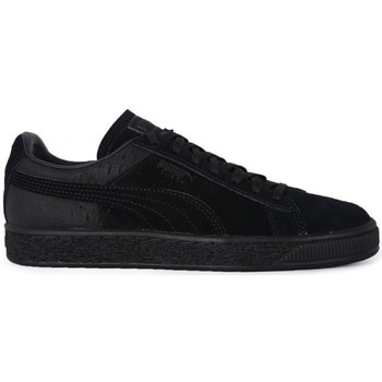Shoes Women Low top trainers Puma Suede Casual Emboss Black