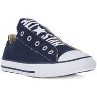 Shoes Children Low top trainers Converse ALL STAR SLIP ON Bianco