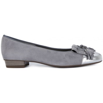 Shoes Women Flat shoes Kammi ARA SCOLLATA FIOCCO Grigio