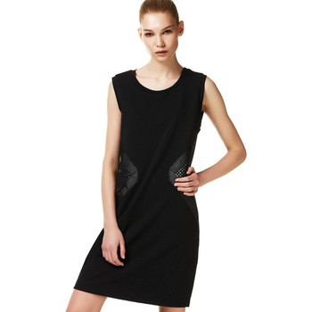 Clothing Women Long Dresses Liu Jo T17133J7910 Dress Women Black Black