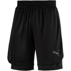 Clothing Men Shorts / Bermudas Puma 515176 Shorts Man Black Black