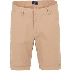 Clothing Men Shorts / Bermudas Gant Bermuda  beige BEIGE