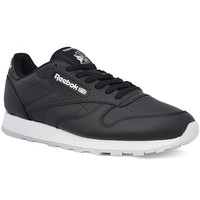 Shoes Men Low top trainers Reebok Sport Classic Leather ID Black-White