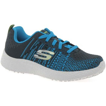 Shoes Boy Low top trainers Skechers Burst In The Mix Boys&039; Trainers blue