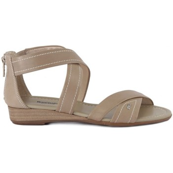 Shoes Women Sandals Nero Giardini Sandalo Leon Sabbia Beige