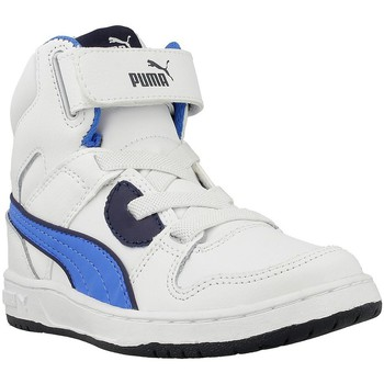 Shoes Children Hi top trainers Puma Rebound Blue-White