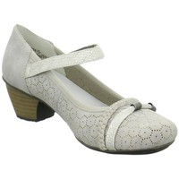 Shoes Women Heels Rieker Riemchen Beige