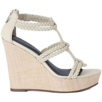 Shoes Women Sandals Tommy Hilfiger Beatrice White-Cream