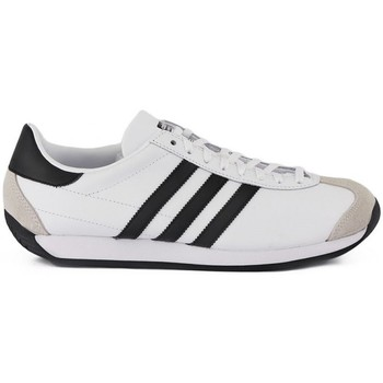 Shoes Men Low top trainers adidas Originals Country OG White-Black