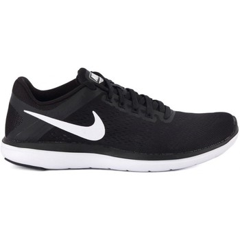 Shoes Women Low top trainers Nike Flex 2016 RN White-Black