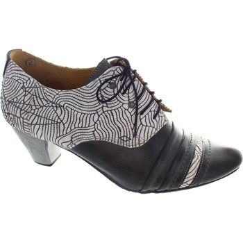 Shoes Women Brogues Maciejka Becky women's grey lace up medium heel two tone shoe boot booti Grey