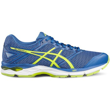 Shoes Men Running shoes Asics Gel Phoenix 8 Blue-Yellow