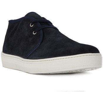 Shoes Men Hi top trainers Frau SUEDE BLU Blu
