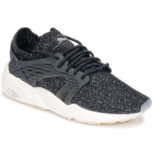 Shoes Running shoes Puma BLAZE CAGE EVOKNIT Black / White