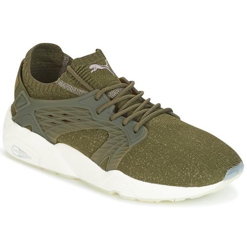 Shoes Men Low top trainers Puma BLAZE CAGE EVOKNIT Kaki