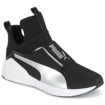 Shoes Women Hi top trainers Puma FIERCE core Black