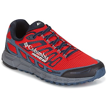 Shoes Men Running shoes Columbia BAJADA III Red