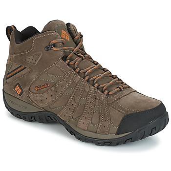 Shoes Men Walking shoes Columbia REDMOND MID LEATHER OMNI-TECH TAUPE
