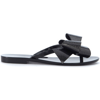 Shoes Women Sandals Melissa Ciabatta  Harmonic nera con fiocco Black