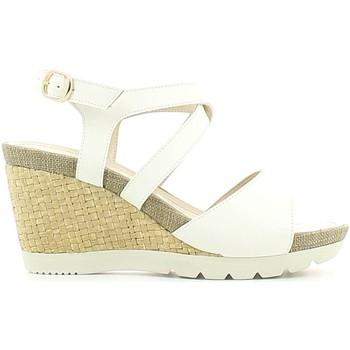 Shoes Women Sandals Lumberjack SW31006 003 S01 Wedge sandals Women Bianco