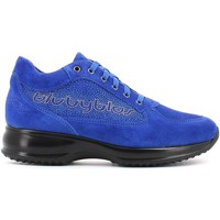 Shoes Women Walking shoes Byblos Blu 657002 Shoes with laces Women Blue