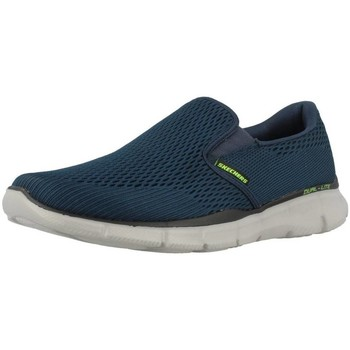Shoes Men Slip ons Skechers DOUBLE PLAY Blue