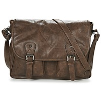 Bags Men Messenger bags Casual Attitude NUDILE Brown