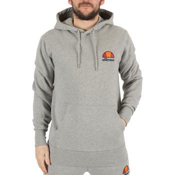 Clothing Men sweatpants Ellesse Men's Toce Left Logo Hoodie, Grey grey
