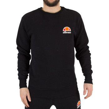 Clothing Men sweatpants Ellesse Men's Diveria Left Chest Logo Sweatshirt, Black black