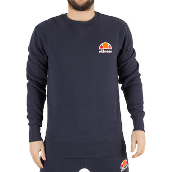 Clothing Men sweatpants Ellesse Men's Diveria Left Chest Logo Sweatshirt, Blue blue