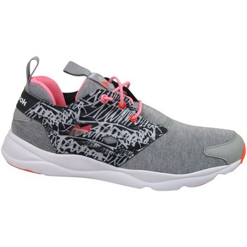 Shoes Children Running shoes Reebok Sport Furylite Graphic Pink-Grey