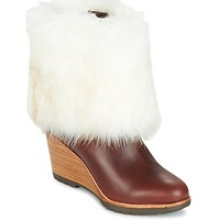 Shoes Women Mid boots Sorel PARK CITY SHORT Brown