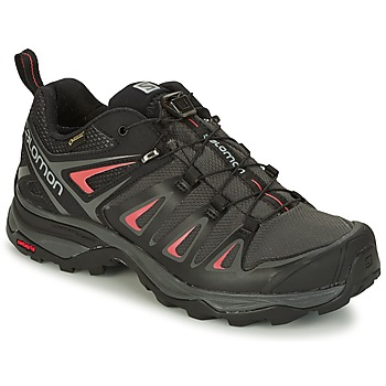 Shoes Women Walking shoes Salomon X ULTRA 3 GTX® Black / Red