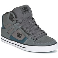 Shoes Men Hi top trainers DC Shoes SPARTAN HIGH WC Grey / Green