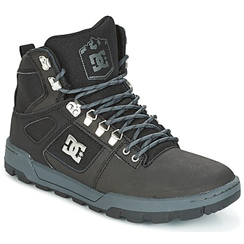 Shoes Men Hi top trainers DC Shoes SPARTAN HIGH WR Black / Grey