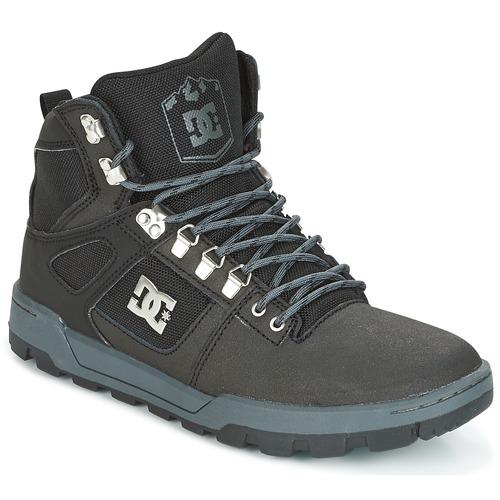 Shoes Men Hi top trainers DC Shoes SPARTAN HIGH WR Black / Grey