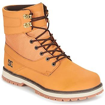 Shoes Men Mid boots DC Shoes UNCAS M BOOT TBK BEIGE / Black / Brown