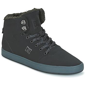 Shoes Men Hi top trainers DC Shoes CRISIS HIGH WNT Black / Grey