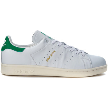 Shoes Men Trainers adidas Originals Stan Smith white leather Sneaker White