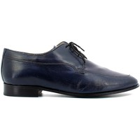 Shoes Men Walking shoes Fontana 5570-N Elegant shoes Man Blue Blue