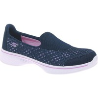 Shoes Girl Multisport shoes Skechers GoWalk 4 Kindle Girls&039; Navy Shoes blue