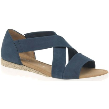 Shoes Women Sandals Gabor Promise Womens Sandals blue