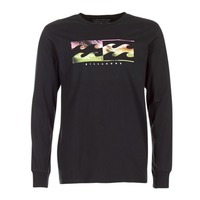 Clothing Men Long sleeved tee-shirts Billabong INVERSE TEE LS Black