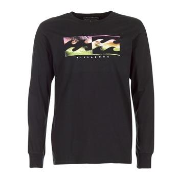 Clothing Men Long sleeved tee-shirts Billabong INVERSE TEE LS Black