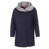 Clothing Women coats S.Oliver DEMIZA Marine / Grey