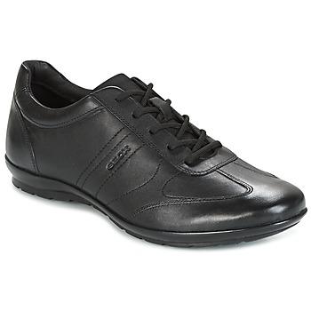 Shoes Men Low top trainers Geox UOMO SYMBOL Black