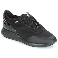 Shoes Women Low top trainers Geox D OPHIRA Black